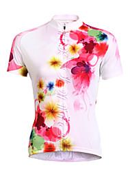 TASDAN Camisa para Ciclismo Mulheres Manga Curta Moto Camisa/Roupas Para Esporte Blusas Conjuntos de Roupas Secagem Rápida Resistente
