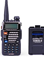 cheap -BaoFeng UV-5RB Walkie Talkie + Additional Battery 5W/1W 128 136-174MHz / 400-520MHz