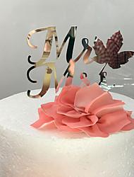 Недорогие -Украшения для торта Классика Классическая пара Акрил Свадьба с 1 Пенополиуретан