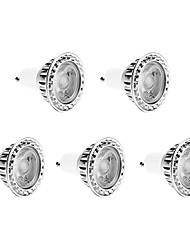 cheap -ZDM® 5pcs 4.5W # GU10 LED Spotlight # LED Beads COB Dimmable Warm White Cold White Natural White 220-240V
