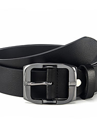 Men's Luxurious Genuine Leather Nice Pin Buckle Belt 4 Colors