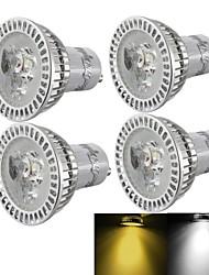 3000/6000 lm GU10 Lâmpadas de Foco de LED R63 3 leds LED de Alta Potência Regulável Decorativa Branco Quente Branco Frio AC 110-130V AC