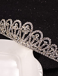 Full-Crystal Tiaras Shape Hair Combs for Lady Girl Hair Jewelry