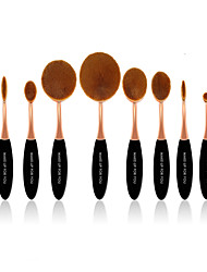 cheap -10 Pcs Master Rose Gold Makeup Brushes Set Synthetic Hair Professional / Plastic Face / Eye / Lip MAKE-UP FOR YOU