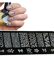1pcs  New Nail Art Stamping Plates  DIY  Image Templates Tools Nail Beauty XY-J06-10