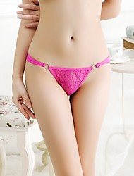 cheap -Women's Sexy Ultra Sexy Panties G-strings & Thongs Panties Solid Colored
