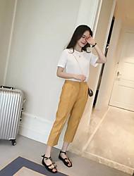 preiswerte -Damen Schick & Modern Lose Jeans Hose Solide