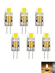 cheap -2W G4 LED Bi-pin Lights MR11 1 COB 100-150 lm Warm White Cold White 3000-6000 K Decorative Dimmable DC 12 AC 12 V
