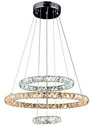 cheap -Modern / Contemporary Pendant Light Ambient Light - Crystal LED, 110-120V 220-240V LED Light Source Included