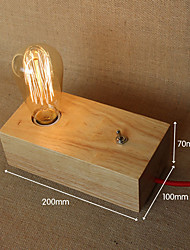 cheap -Eye Protection Modern/Contemporary Desk Lamp For Wood/Bamboo Wall Light 40WW