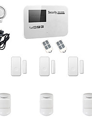 cheap -433MHz SMS / Phone 433MHz GSM Learning Code Home Alarm Systems