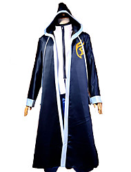 cheap -Inspired by Fairy Tail Gerard Fernandes Anime Cosplay Costumes Cosplay Suits Patchwork Long Sleeves Cloak T-shirt For Men's