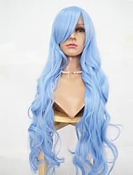 sintetico parrucca lago macchina onda blu corpo fatto parrucche parrucche cosplay