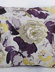Waterprinting Jacquard Cushion Cover -Purple