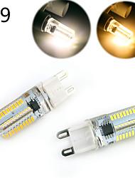 Недорогие -E14 G9 G4 BA15D LED лампы типа Корн T 80 светодиоды SMD 3014 Диммируемая Декоративная Тёплый белый Холодный белый 500lm