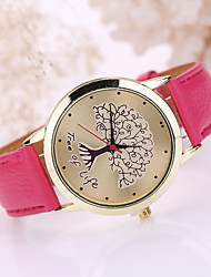 cheap -Women's Leather Band Life of Tree  Case Wrist Watch Cool Watches Unique Watches