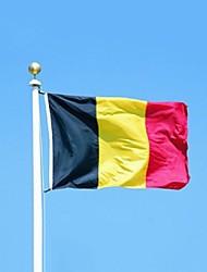 Belgium Flag Banner 90*150Cm Hanging National Flag Belgium Home Decoration Belgium Flag (Without flagpole)