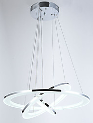 cheap -Pendant Light Ambient Light - Crystal, LED, 110-120V / 220-240V, Warm White / Cold White, LED Light Source Included / 10-15㎡ / FCC