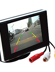 cheap -3.5 Inch TFT-LCD Car Rearview Monitor HD With Stand Reverse Backup Camera High Quality