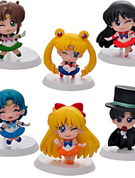 cheap -Anime Action Figures Inspired by Sailor Moon Sailor Moon PVC 5 CM Model Toys Doll Toy