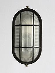 Single Head E27 LampholderIP45 Waterproof Metal Material Wall Lamp for Corridor / Balcony Decorate Wall Lamp