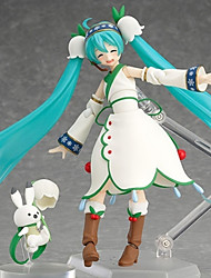 economico -Figure Anime Azione Ispirato da Vocaloid Hatsune Miku PVC 19 CM Giocattoli di modello Bambola giocattolo