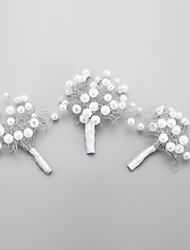 Недорогие -Женский Для девочек Сплав металлов Искусственный жемчуг Заставка-Свадьба Особые случаи Шпилька 3 предмета