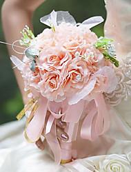 """Cvijeće za vjenčanje Buketi Vjenčanje Zabava / večer Svila 5.12 """"(Approx.13cm) 9.84 """"(Approx.25cm)"""