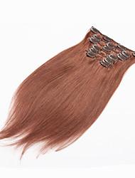 baratos -grampo em extensões do cabelo humano grampo de cabelo brasileiro em extensões do cabelo grampo de cabelo humano em extensão