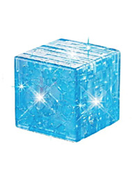 cheap -Building Blocks Magic Cube 3D Puzzles Jigsaw Puzzle Crystal Puzzles DIY Crystal ABS Christmas Gift