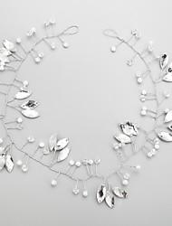 abordables -Imitation de perle Strass Alliage Bandeaux 1 Mariage Occasion spéciale Casque