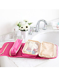 Portable Makeup Bag Organizer Nylon Women Cosmetic Cases Travel Wash Bag