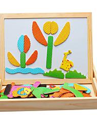 Magneti giocattolo Pezzi 40*12*5 MM Magneti giocattolo Gioco educativo Puzzle Giocattoli esecutivi Cubo a puzzle per il regalo