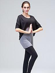Yoga Tuta da ginnastica Traspirante / Privo di elettricità statica Elevata elasticità Abbigliamento sportivo Per donna-Sportivo,Yoga /