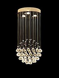 Недорогие -3-Light Подвесные лампы Потолочный светильник Электропокрытие Металл Хрусталь, LED 110-120Вольт / 220-240Вольт Теплый белый Лампочки включены / GU10