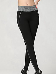 Women's Running Pants Breathable Soft Compression smooth Leggings Bottoms for Exercise & Fitness Running Gray S M L XL