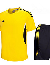 cheap -Others Men's Short Sleeve Soccer Clothing Sets/Suits Breathable / Quick Dry / Football / Running