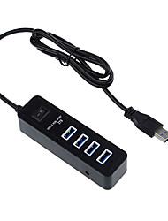 usb 3.0 4 ports / interface de hub USB avec interrupteur séparé 11 * 3 * 3