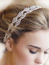 cheap -The New Bride High-Grade Pan Head Hair Pure Manual White Double Strands Of Hair Band
