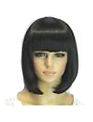cheap -Popular  Bobo Hair Style Wig Capless  Long Straight  Synthetic Hair Wig Full Bang  2 Colors