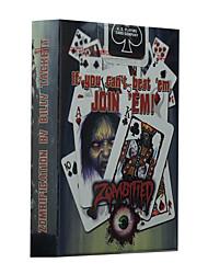 Недорогие -велосипед Zombified покер все святые карты велосипед Zombified магические реквизит