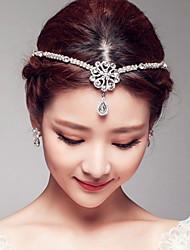strass alliage head head headpiece style féminin classique
