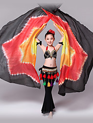 cheap -Belly Dance Isis Wings Performance Silk Tie Dye Animals Christmas Decorations Halloween Decorations Princess Supeheroes & Villains
