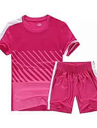 cheap -Women's Soccer Clothing Suits Quick Dry Breathable Spring Summer Fall Winter Terylene Exercise & Fitness Leisure Sports Football / Soccer