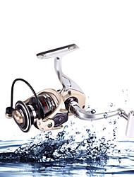 cheap -Low Profit  Aluminum Reel 2000-7000 Size 5.2:1 12 Ball Bearings All Metal Sea  Freshwater Fishing Spinning Fishing Reel