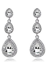cheap -Women's Zircon / Cubic Zirconia - Fashion White / Red / Golden Earrings For Wedding / Party