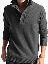 cheap -Men's Weekend Pullover - Solid Stand