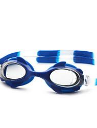 abordables -No Lunettes de natation Unisexe Taille ajustable / Sangle antidérapant Polyuréthane PC Noir / Bleu Noir / Bleu