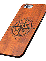 Para Funda iPhone 5 Carcasa Funda En Relieve Diseños Cubierta Trasera Funda Caricatura Dura Madera para AppleiPhone 7 Plus iPhone 7