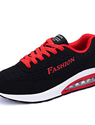 Running Shoes Summer Autumn Hot Sale Men's Flyweave Breathable Mesh  in Casual Style Lace-up Sneakers